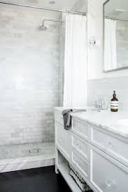 best way to clean bathroom tile. Splendor In The Bath. White Cabinets And Marble. Curtain Instead Of Glass. Easy To Clean Best Way Bathroom Tile