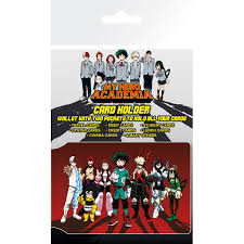 My Hero Academia Heroes Card Holder - shop4megastore.com