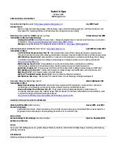 Rachel Ryan Architecture Resume
