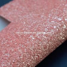 Groothandel Bekleding Pastel Roze Glitter Stof 2016 Glitter Behang