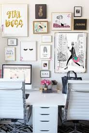 chic office space. best home office ideas for bloggers and girl bosses chic space