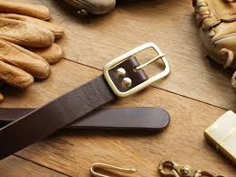 weekenlife narrow type leather belt custom name dark coffee designer weekenlife i
