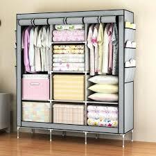 gorgeous wardrobe storage closet simple clothes closet portable wardrobe storage organizer with shelves durable construction storage