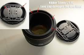 Lens Cap Design Watch Out Nikon 58mm Lens Has A Design Defect Nikon Slr