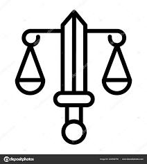 Váhy Tetování Zvěrokruh Znamení Ikona Stock Vektor Prosymbols