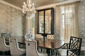 Damask Wallpaper Dining Room Ideas,damask wallpaper dining room ideas,Dining  Room Designs with
