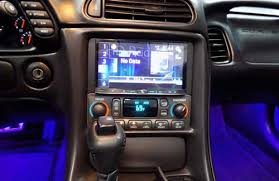 car sound system installation. corvette car stereo installation sound system