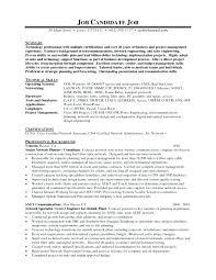 Ccna Resume Format – Sapphirepartners