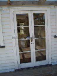 remove wooden french doors