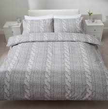 cable knit duvet cover king
