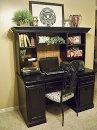 black desks for home office. modren office home office this beautiful desk sure didnu0027t look like this to start intended black desks for office f
