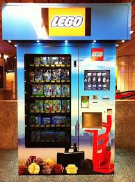 Lego Vending Machine Kit New LEGO Vending Machine In The Underground At Munich Central Station