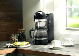 kitchenaid coffee maker kcm1202ob coffee maker cup with one touch brewing onyx black everything kitchens empire