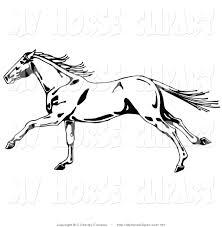 running horses black and white. Wonderful White With Running Horses Black And White O