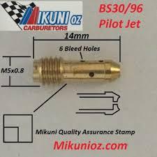 Mikuni Pilot Jet Drill Size Chart Pilot Jets Mikunioz