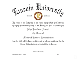 diplomas moscow business school the lincoln university diploma