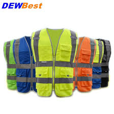 2018 Upgrades Traffic Visibility <b>Reflective</b> Vest Working Clothes ...