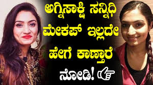 agnisakshi sannidhi without makeup shocking