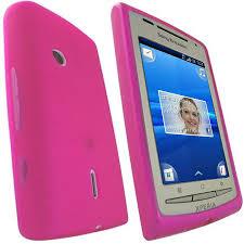 sony ericsson xperia x8. flexishield skin for sony ericsson xperia x8 - pink t