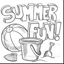 Small Picture Disney Summer Coloring Page With Summer Coloring Pages Es
