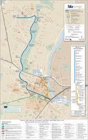 Newark Light Rail Map Subway Mapsof Net