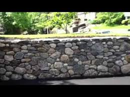 field stone retaining wall you