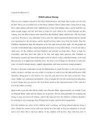 essay about child labour essay on child labour for children and students