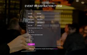 entry form templates event registration form a flat responsive widget template