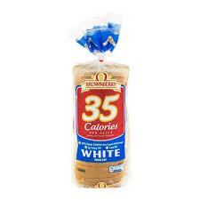 Brownberryarnoldoroweat 35 Calories Per Slice White Bread 1 Lb