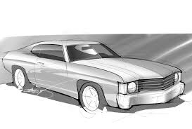 muscle cars drawings. Interesting Cars On Muscle Cars Drawings U