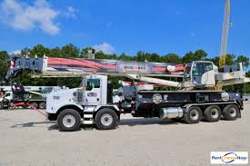 Terex Crossover 8000 Mounted To Kenworth T800 Chassis Crane