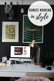 how to arrange an office. How To Arrange A Stylish Office In Your Home So You Can Work Remotely. Make Remote Working More Efficient. | Space Farrow And An S