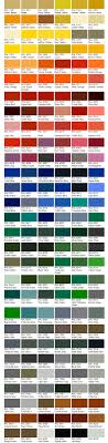 Ral Colour Chart Jawel Paints