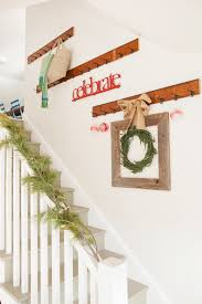 stairs wall decoration ideas staircase shabby chic style with beige wall beige wall