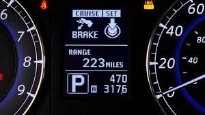 Infiniti Iba Off Light 2016 Infiniti Qx50 Vehicle Information Display