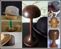 Wooden Hat Stands For Display Andrew Barnes Lifestyle Vintage hat stands 19