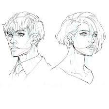 比率のバランスから学ぼう 斜め顔と斜め後ろから見た顔の描き方 In