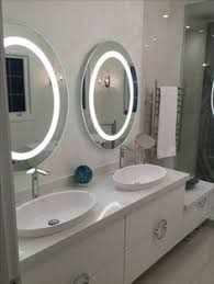 oval led mirrors