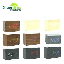 modern desk clock contemporary desk clocks desk clocks modern wood led small table clock electronic desk