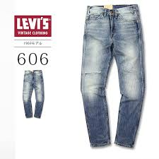 Levis Vintage Clothing Levis Vintage Closing 1969 606 Jeans Slim Fitting 14oz Leg32 Denim Jeans Men Levis 30 605 0057