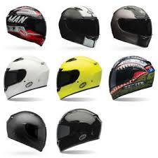 Bell Full Face Helmet Size Chart Details About Bell Qualifier Dlx Full Face Motorcycle Helmet Trans Shield Dot Size Color