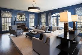 dark blue living room ideas26 blue