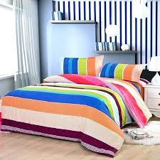 rainbow comforter sets fashion hot classic bedding of bed cover sheets pillowcase crib pastel t