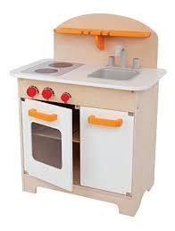 White wood kitchen Simple Image Unavailable Kitchenfindr Amazoncom Hape Gourmet Kitchen Kids Wooden Play Kitchen In White