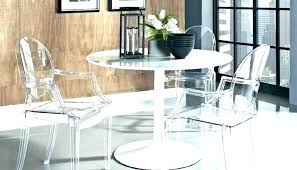 clear dining tables acrylic clear plastic dining table protector gaing clear dining table small round clear