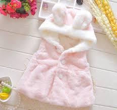 baby girls winter waistcoats newborn c fleece coat baby animal design hoos fur coats for kids girl childrens pink vest coat whole boys red