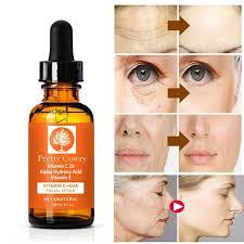 "<b>30ml</b> ""<b>Pretty Cowry</b>"" Hyaluronic Acid Vitamin C & E Natural Face ..."