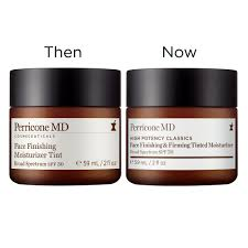 high potency clics face finishing firming moisturizer tint spf 30 perricone md sephora