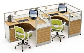 office desk for two people. 2016 unique design saving space two people office cubicle desk corner workstation partition furniture for