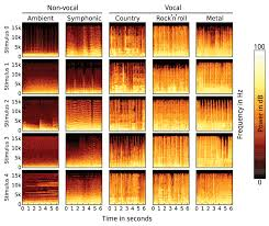 high resolution tesla fmri data on the perception of musical music stimulus spectrograms